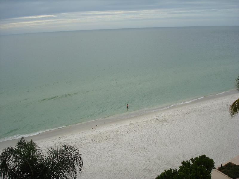 # 715 view from lanai - 2 bedroom condo on the beach facing sunsets - Naples - rentals