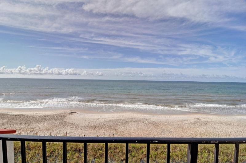 View From Your Balcony - Villa Capriani 317-A Oceanfront | 3 Pools, Largest Pool on NC Coast, 2 Hot Tubs, Grill Area, Tennis Courts, Restaurant, Internet - North Topsail Beach - rentals