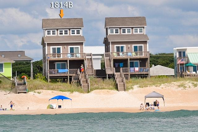 I'm on a boat! - S. Shore Drive 1814B Oceanfront! | Fireplace, Internet - Surf City - rentals