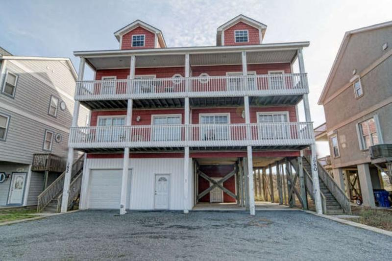 Main View - Island Drive 3980 Oceanfront! | Internet - North Topsail Beach - rentals