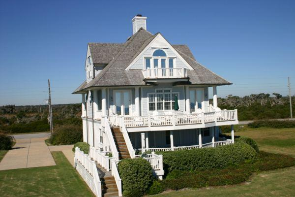 Main View - Island Drive 4230 Oceanfront! | Internet, Community Pool, Jacuzzi, Fireplace - North Topsail Beach - rentals