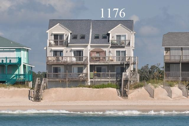 1176 New River Inlet Road - New River Inlet Rd 1176 Oceanfront! | Internet, Jacuzzi - North Topsail Beach - rentals