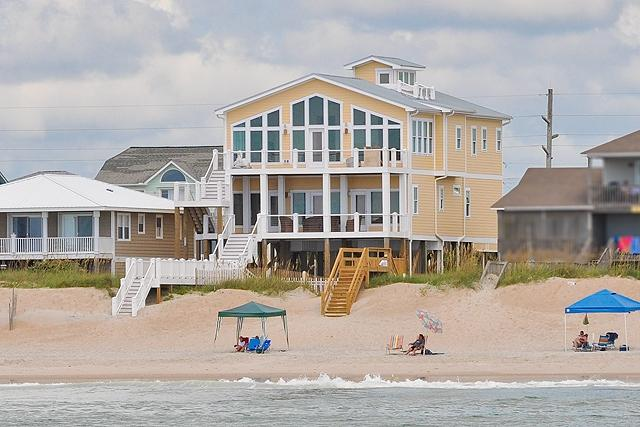 I'm on a boat! - S. Shore Drive 1328 Oceanfront! | Private Pool, Hot Tub, Elevator, Game Equipment, Internet - Surf City - rentals