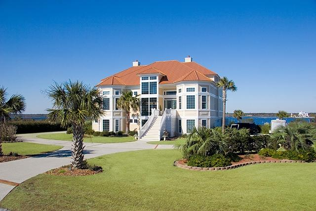 Front of Home - Sailview Drive 25 Oceanview!   Internet, Community Pool, Elevator, Jacuzzi, Fireplace - North Topsail Beach - rentals