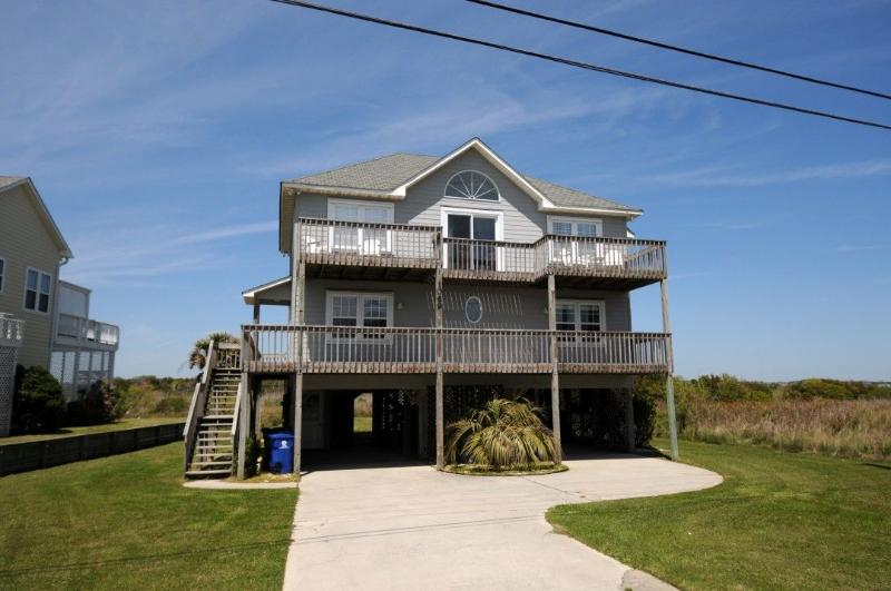 1069 New River Inlet Road - New River Inlet Rd 1069 Oceanview! | Private Heated Pool, Hot Tub, Jacuzzi, Fireplace, Internet - North Topsail Beach - rentals