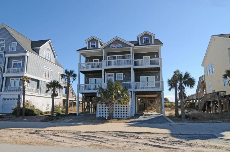 424 New River Inlet Road - New River Inlet Rd 424 Oceanfront!   Private Pool, Jacuzzi, Internet - North Topsail Beach - rentals