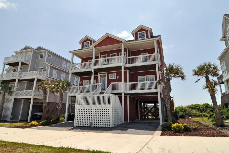 442 New River Inlet Rd - New River Inlet Rd 442 Oceanfront! | Private Pool, Hot Tub, Jacuzzi, Internet, Wedding Friendly - North Topsail Beach - rentals