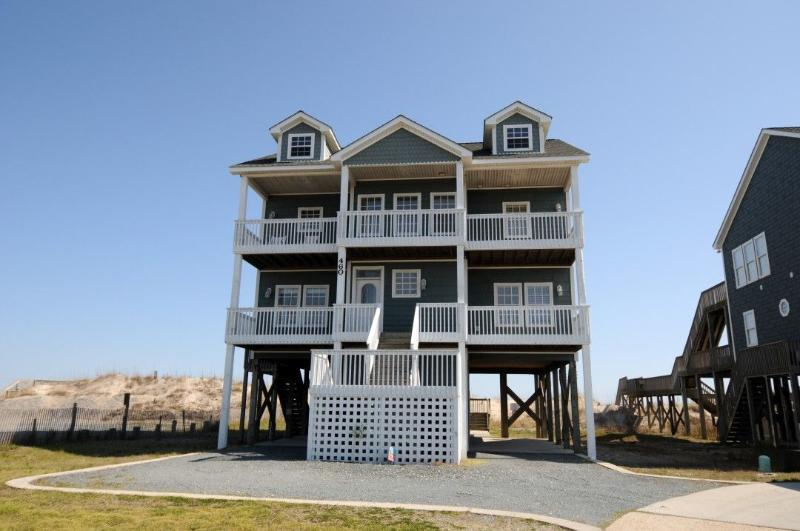 460 New River Inlet Road - New River Inlet Rd 460 Oceanfront! | Hot Tub, Jacuzzi, Internet, Pet Friendly - North Topsail Beach - rentals