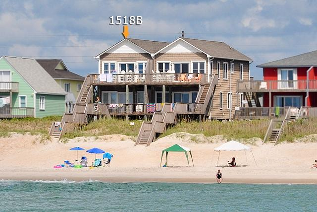 I'm on a boat! - S. Shore Drive 1518B Oceanfront! | Duplex Just Outside the Heart of Surf City! - Surf City - rentals