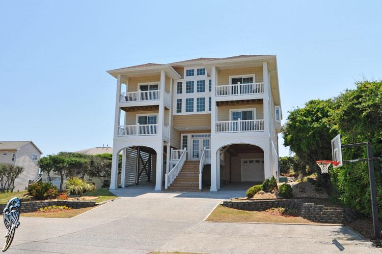 3606 Island Dr  - Island Drive 3606 Oceanfront! | Elevator, Internet, Fireplace - North Topsail Beach - rentals