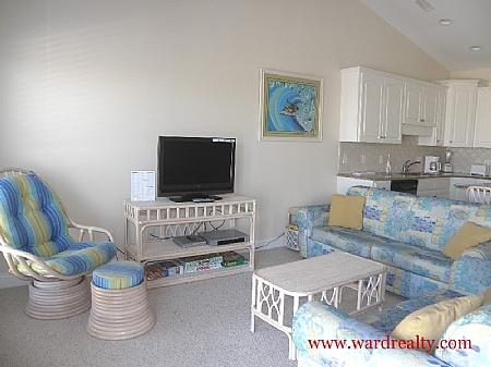 Living Room III - Hoos At The Beach - Surf City - rentals