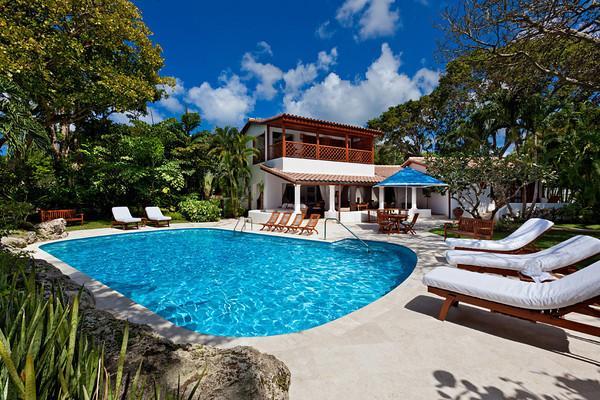 Blue Point at Lower Carlton, Barbados - Beachfront, Pool, Lush Tropical Gardens - Image 1 - Saint James - rentals