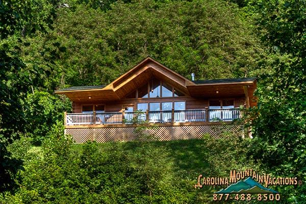 A Bit of Heaven Log Cabin - Image 1 - Bryson City - rentals