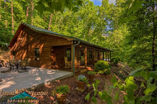Stones Throw Log Cabin - Image 1 - Bryson City - rentals