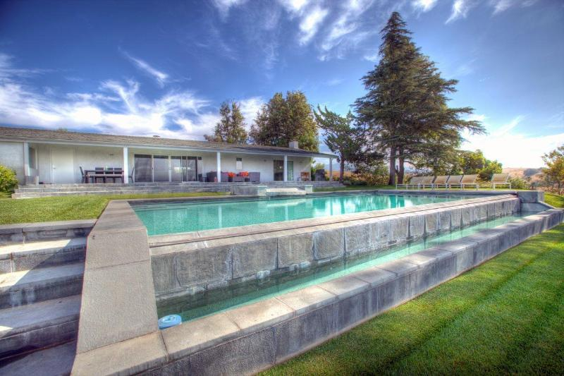 Stunning Infinity Pool and Spa - Estelle Ranch-Luxury Vineyard Living - Santa Ynez - rentals