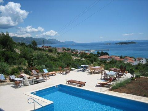 Wonderful seaside villa with a pool, for rent - Image 1 - Orebic - rentals