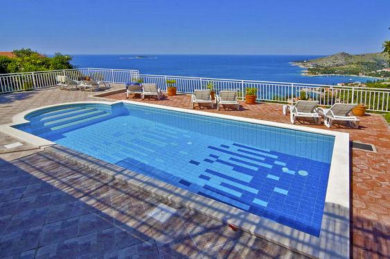 Holiday villa with a pool, Mlini, Dubrovnik - Image 1 - Dubrovnik - rentals