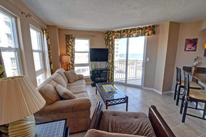 Living Area - St. Regis 2314 -1BR_6 - North Topsail Beach - rentals