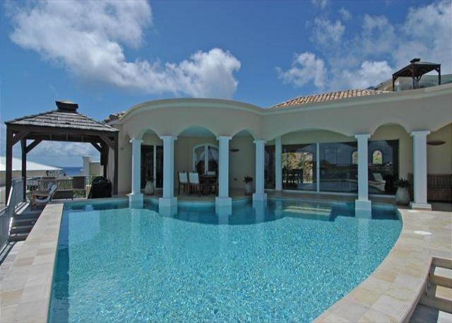 Experience Luxury and privacy at this villa just a short walk to Dawn Beach! - Image 1 - Saint Martin-Sint Maarten - rentals