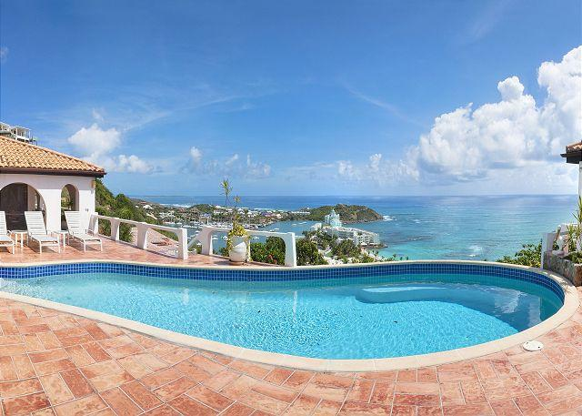 The Arches - Lovely villa on the Oyster Pond hillside with fantastic views! - Image 1 - Saint Martin-Sint Maarten - rentals