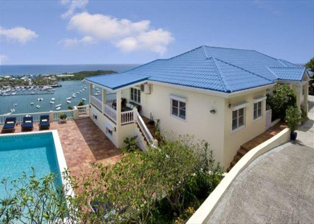 Overlooking captivating Oyster Pond and Dawn Beach - Image 1 - Saint Martin-Sint Maarten - rentals