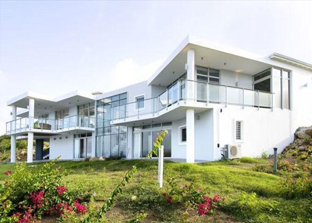 "Brand new villa ""La Mirella"" is an island estate in Oyster Pond - Image 1 - Saint Martin-Sint Maarten - rentals"