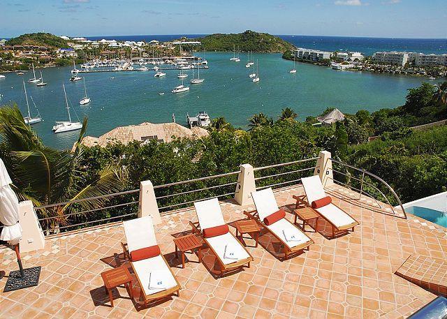 Chic 4 Bedroom Villa overlooking Oyster Pond - Image 1 - Saint Martin-Sint Maarten - rentals