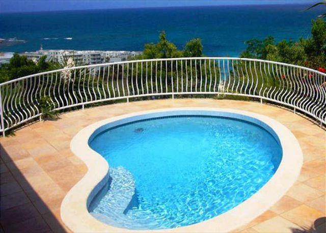Paradijs is surrounded by a tropical garden and dynamic panorama Oyster Pond - Image 1 - Saint Martin-Sint Maarten - rentals