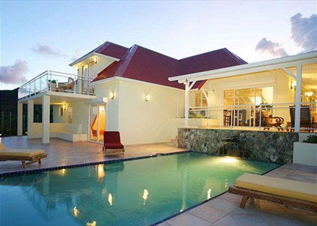 Villa Méditerranée is a spectacular new villa located in the gated Orient Bay - Image 1 - Saint Martin-Sint Maarten - rentals