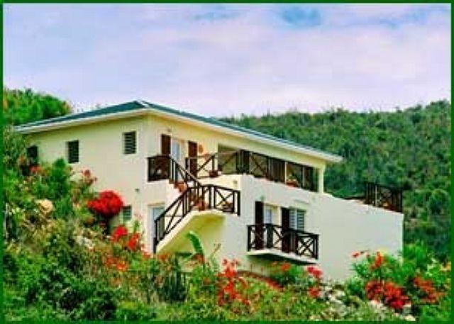 Moondance is a charming villa located on a hillside overlooking the sea. - Image 1 - Saint Martin-Sint Maarten - rentals