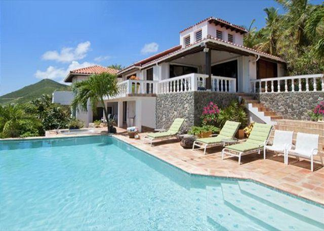 In the lush hillside of exclusive Oyster Pond,Plateau House is indeed paradis - Image 1 - Saint Martin-Sint Maarten - rentals