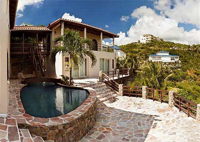 Baywood Villa is a wonderful Caribbean style villa in Dawn Beach Estates - Image 1 - Saint Martin-Sint Maarten - rentals