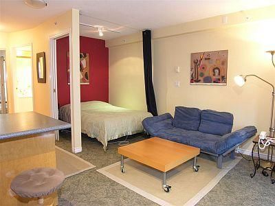 Downtown Vancouver Yaletown Studio Condo Walk to Amenities and Attractions - Image 1 - Vancouver - rentals