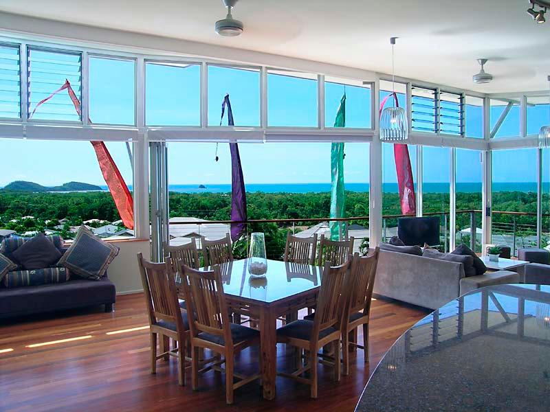 Main living area looking to water views - Bedrock Palm Cove - Palm Cove - rentals