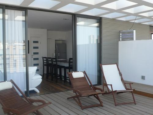 Balcony - Unit C- Luxury Duplex Penthouse In Tel-Aviv - Tel Aviv - rentals