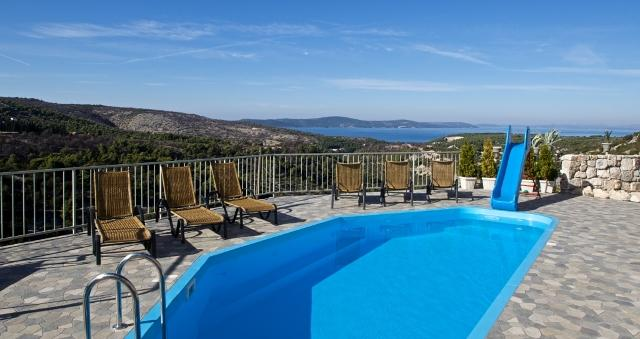 Breathtaking stone villa for rent, Bobovisca, Brac - Image 1 - Brac - rentals