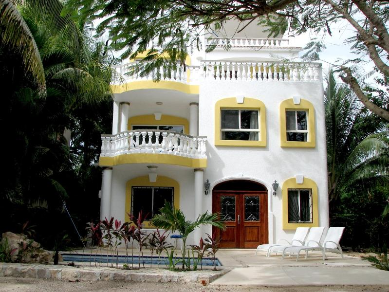 Casa Palmas - 3 bdrm villa in Playacar private Pool & ocean view - Playa del Carmen - rentals