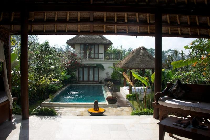 View from lounge - Ubud Villa Damee 3 Bedroom Private Villa with Pool - Ubud - rentals