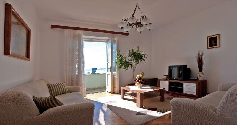 Living room - Cozy apartment on Bacvice beach in Split - Split - rentals