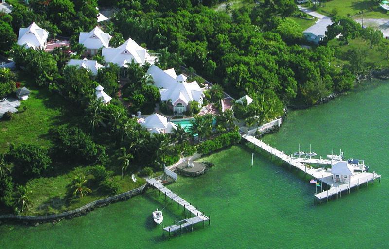 VILLA FROM THE AIR - Villa Tatutina A Private Peaceful Luxurious Villa - Marsh Harbour - rentals