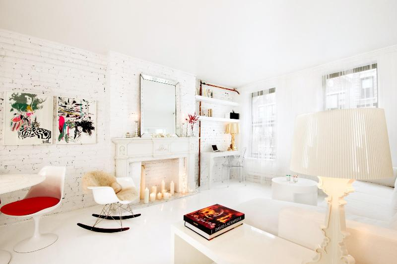 The bowery suite_living room - SOHO - Luxury & stylish Boutique Suites ( 2 BR) - New York City - rentals