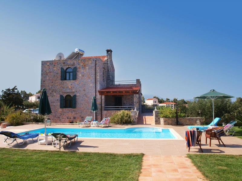 Villa Antina, a unique stone cottage with pool - Image 1 - Gouves - rentals