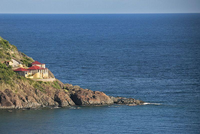 Wings Over Water enjoys incredible privacy and astonishing views - WingsOver Water, waterfront, Chocolate Hole St John - Saint John - rentals