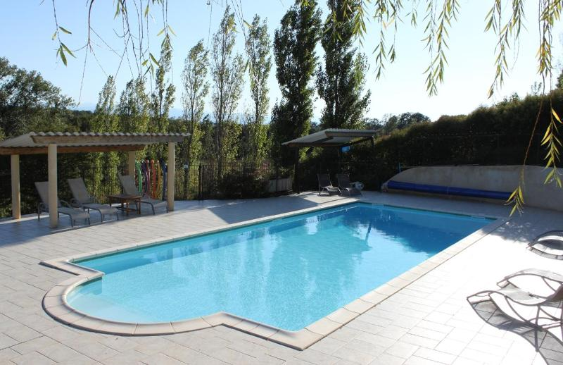 12 metre heated swimming pool - L'Ostalet - Lovely house with private garden - Aude - rentals