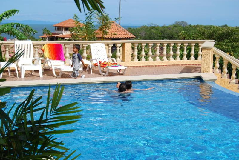Pool at Plantation Club available for use with Guesthouse rental - 2 Bedroom Guesthouse in Boca Chica, Panama - Chiriqui - rentals