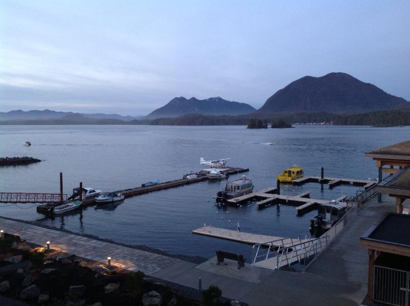 The brand new docks. Start your scenic flight or excursion from right in front of the complex! - Escape 2 Tofino in a Luxury Waterfront Loft - Tofino - rentals
