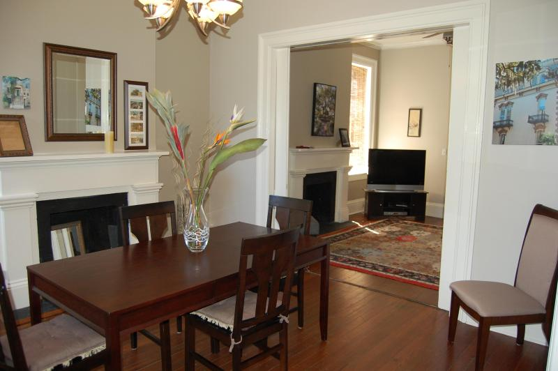 Dining Room - Luxury Townhouse in Downtown Historic District - Savannah - rentals