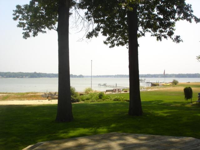 View from deck - 4 Bedroom home on Lake Macatawa near Lake Michigan - Holland - rentals