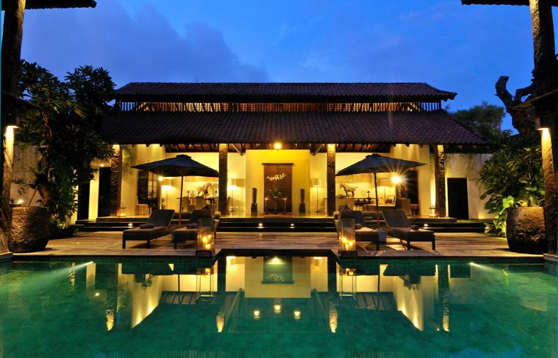 Living and Pool Area - Villa De Suma - Luxury 4 bedrooms Seminyak Villa - Seminyak - rentals