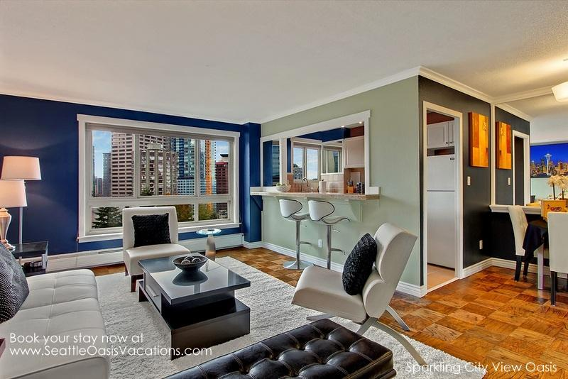 2 Bedroom Sparkling City Oasis--August dates still available at 15% off! - Image 1 - Seattle - rentals